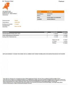 NL Domein Host -Factuur, Aanbieding en Opdrachtbevestiging in 1!
