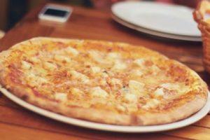 Ongezonde pizza