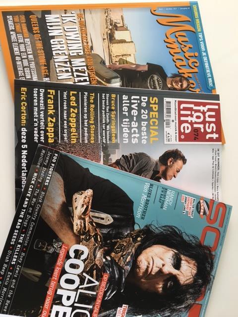 Bladen en magazines