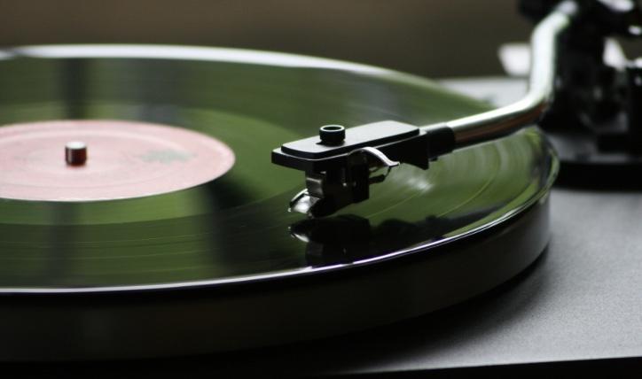 Even lekker muziek aan zetten.